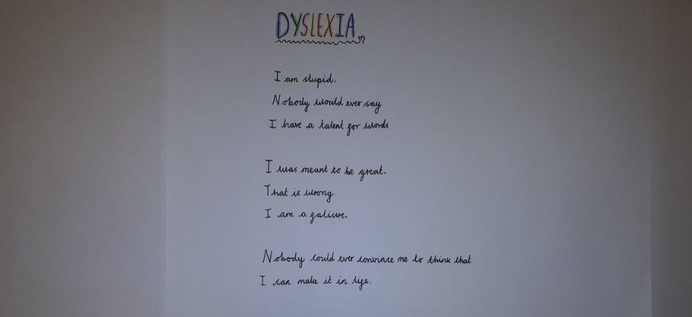 10 year old's powerful poem about dyslexia will leave you teary-eyed./ Image: Twitter