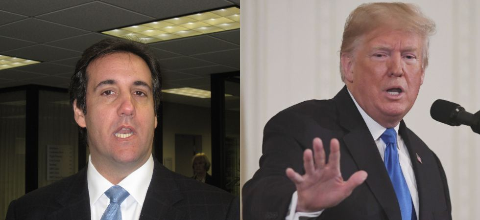 Michael Cohen, who implicated the president in federal crimes and said Donald Trump would do anything to win, said he offered his bombshell alarm as someone who knows the president well. (File photo)