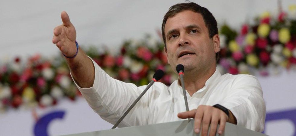 Rahul Gandhi said GST has destroyed small traders and small and medium businesses. (File Photo: Twitter)
