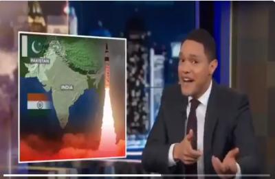 Internet slams comedian Trevor Noah for saying 'Indo-Pak' war will be 'most entertaining'
