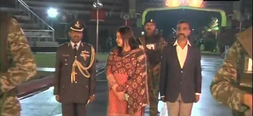 Abhinandan Varthaman, IAF hero captured by Pakistan, returns to India via Wagah Border