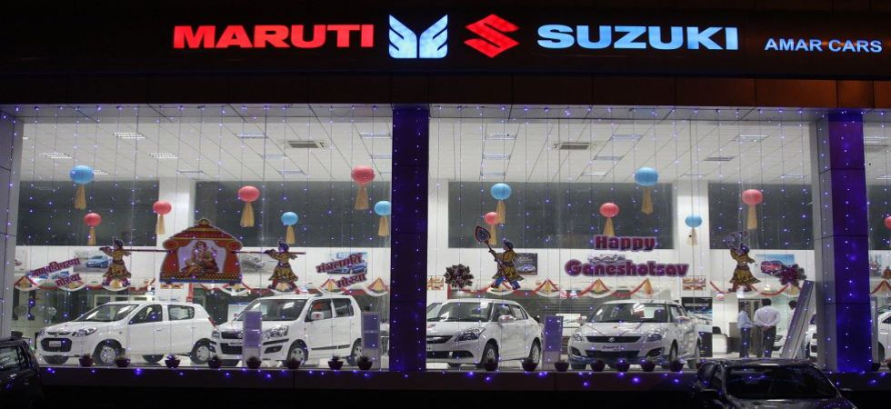 Maruti sales dip marginally in February at 1,48,682 units (File Photo)