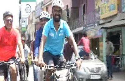 Chennai engineer to paddle 8,500 kms to raise awareness about human trafficking