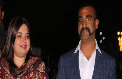 No, this woman is not IAF pilot Abhinandan Varthaman's wife
