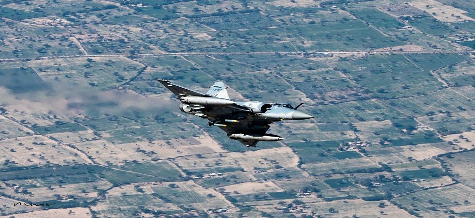 In the aerial combat that ensued one F-16 of PAF was shot down by an IAF MiG-21 Bison. (Photo: @IAF_MCC/Twitter)