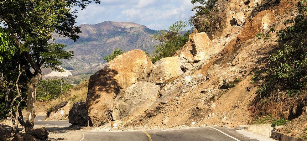 Watch Video: Massive landslide blocks Jammu-Srinagar National Highway (Representational Image)