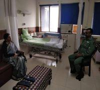Nirmala Sitharaman meets Wing Commander Abhinandan Varthaman in Delhi