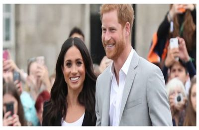 Prince Harry asks Meghan Markle if their royal baby is HIS during trip in Morocco