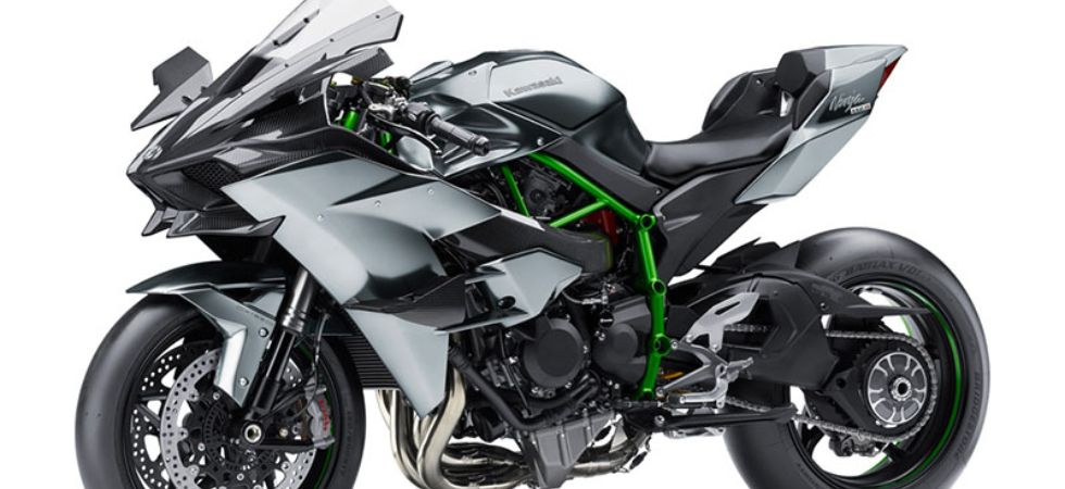 First And Only Kawasaki Ninja H2r To Be Delivered In India Today