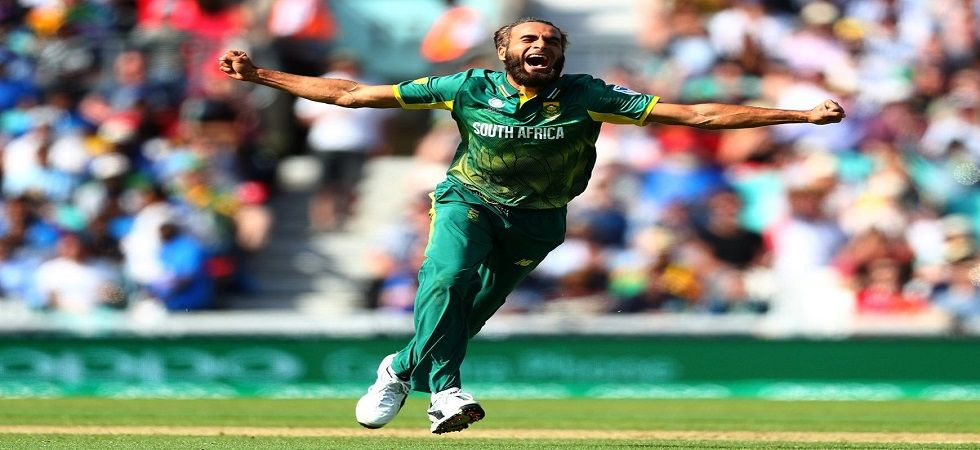 Imran Tahir is the fastest South Africa bowler to take 100 wickets in ODIs. (Image credit: Twitter)