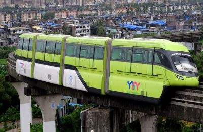 Mumbai monorail delayed by an hour on first day due to technical snags