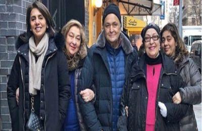 Neetu Kapoor's hints at Rishi Kapoor's speedy recovery and return to India