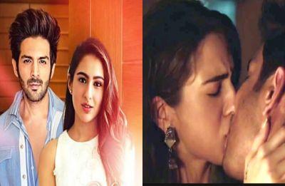 Kartik Aaryan caught kissing Sara Ali Khan for Love Aaj Kal 2: Watch video