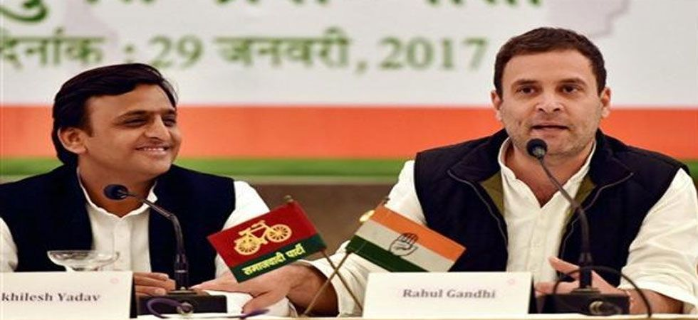 As per the new pact, the Samajwadi Party the Bahujan Samaj Party will give up six seats each for the Congress. (File Photo: PTI)