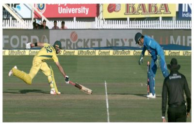 Watch – MS Dhoni's magic run-out of Glenn Maxwell gives Ranchi fans plenty to cheer