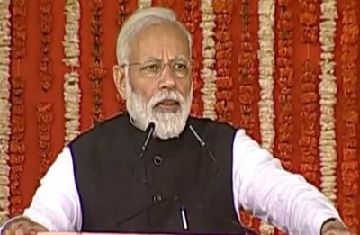 PM Modi inaugurates, lays foundation stone for development projects worth Rs 32,500 crore in Ghaziabad