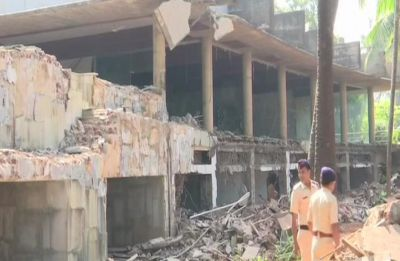 Fugitive diamantaire Nirav Modi's seaside bungalow demolished, watch video