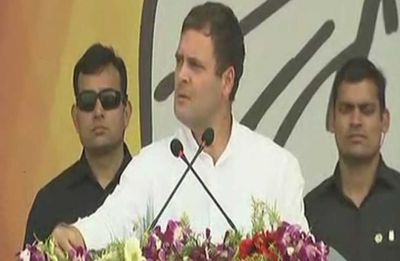 Rahul Gandhi reaches out to women with quota bill promise ahead of Lok Sabha elections