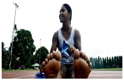 Swapna Barman, Asian Games gold medalist gets customised shoes for her 12 toed-feet