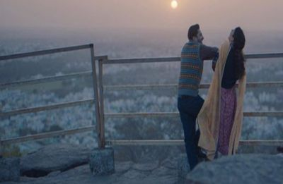 Panga first look: Kangana Ranaut and Jassie Gill share a hearty laugh while watching sunset
