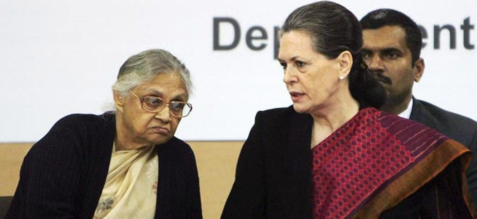 Sheila Dikshit and Sonia Gandhi (File Photo)