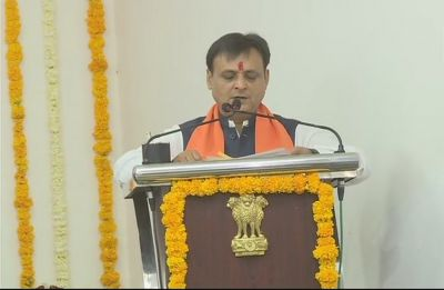 Gujarat MLAs who quit Congress take oath as BJP ministers