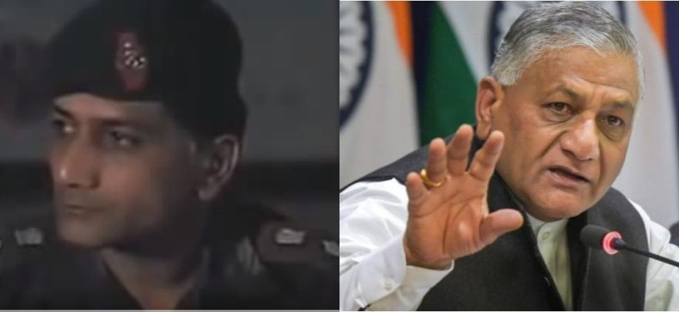 Union Minister VK Singh shared screen with THIS actor for a movie