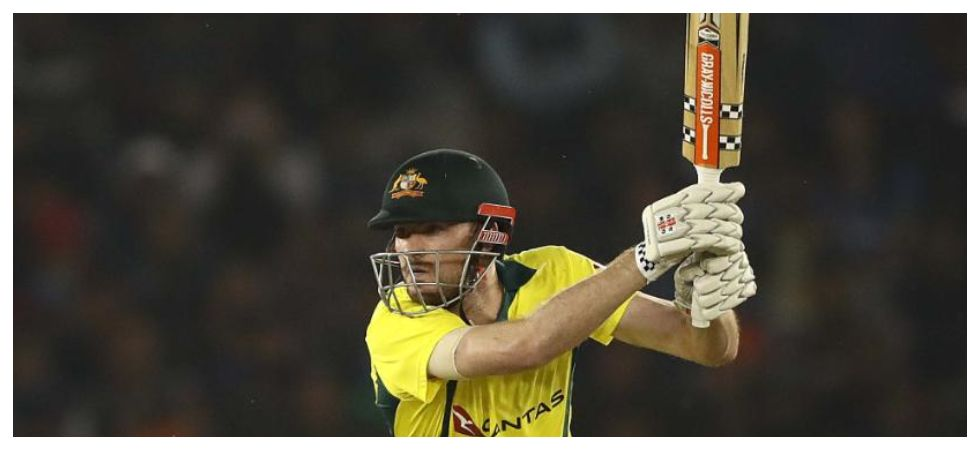 Ashton Turner's blazing 84 off 43 balls helped Australia achieve the highest successful run-chase by a visiting team in ODIs in India. (Image credit: ICC Twitter)