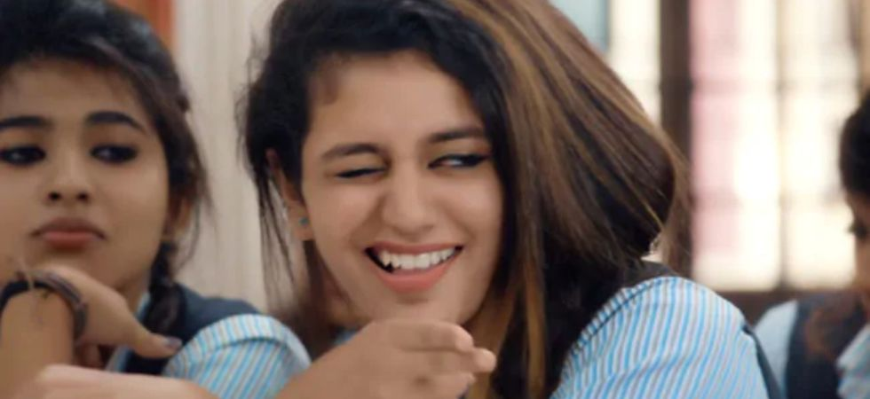 Priya Varrier was forcefully made female lead after her wink act got viral (Instagram)