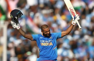 This shocking thing happened during Shikhar Dhawan's press conference after Mohali ODI