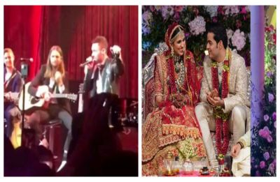 WATCH: Maroon 5's Adam Levine performs LIVE for newlyweds Akash Ambani-Shloka Mehta post-wedding celebration