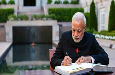 PM Modi writes blog on Mahatma Gandhi, targets Congress on corruption
