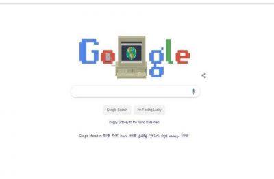 Google Doodle celebrates 30th anniversary of World Wide Web