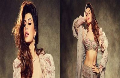 Akash-Shloka wedding: Jacqueline Fernandez stuns in a Pink Lehenga