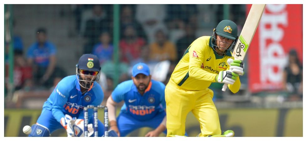 Usman Khawaja notched up his second ton of the series as Australia were in a strong position in the series-deciding ODI against India in Delhi. (Image credit: Twitter)