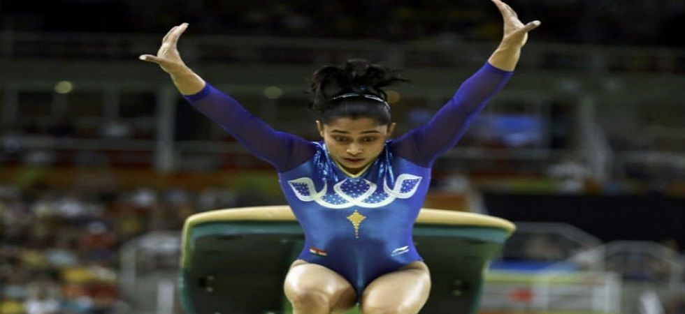 India's Dipa Karmakar made it to the vault finals after finishing third in the qualifying round (Image Credit: Twitter)