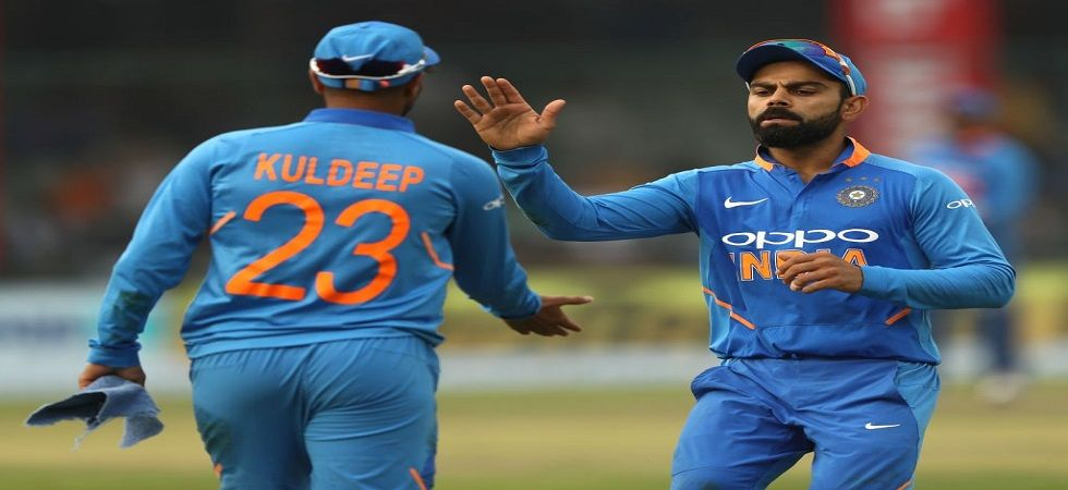 Virat Kohli has stressed that the Indian cricket team is not panicking after squandering a 2-0 lead to lose the series 2-3 to Australia. (Image credit: BCCI Twitter)