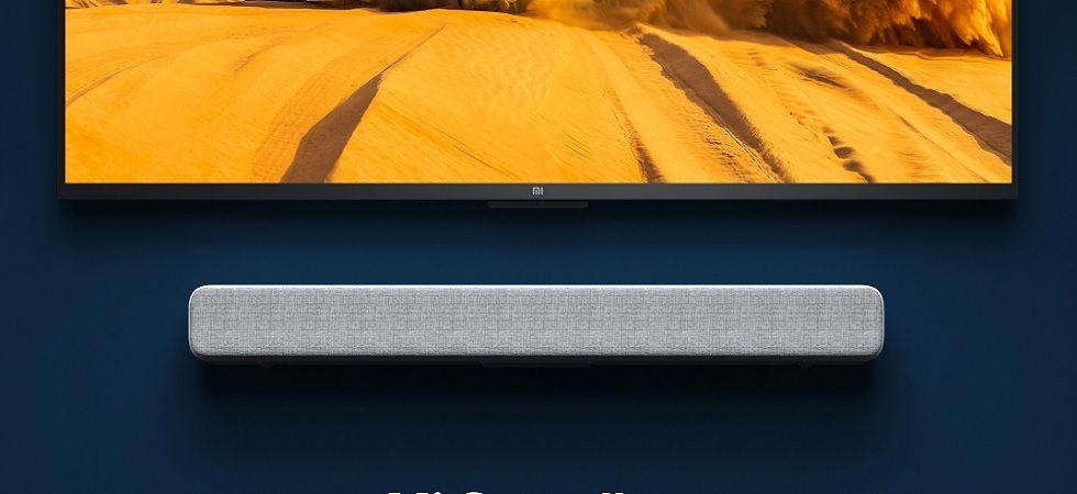 Xiaomi Mi Soundbar with eight sound drivers priced at Rs 4,999 (Image credit: Mi Website)