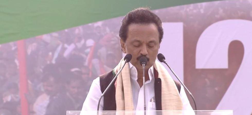 DMK chief M K Stalin named coalition as Secular Progressive Alliance