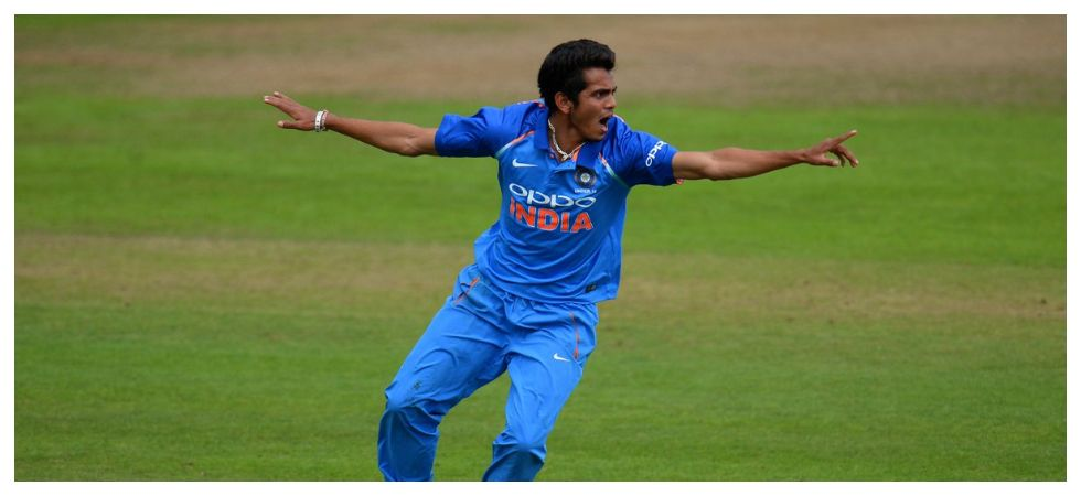 Kamlesh Nagarkoti has not played a competitive cricket game since 2018 as he recovers from a back injury. (Image credit: Twitter)