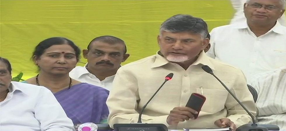 Naidu said the first list of candidates for the Lok Sabha election, scheduled simultaneously, would be announced on Friday. (Photo: ANI)