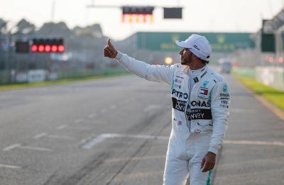 Lewis Hamilton secures pole in Australian Grand Prix, Sebastian Vettel third