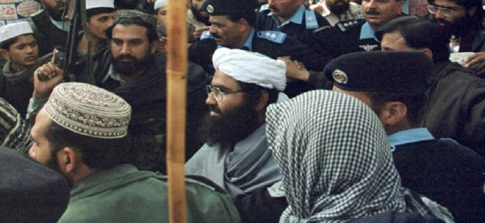 Jaish-e-Mohammed chief Masood Azhar.