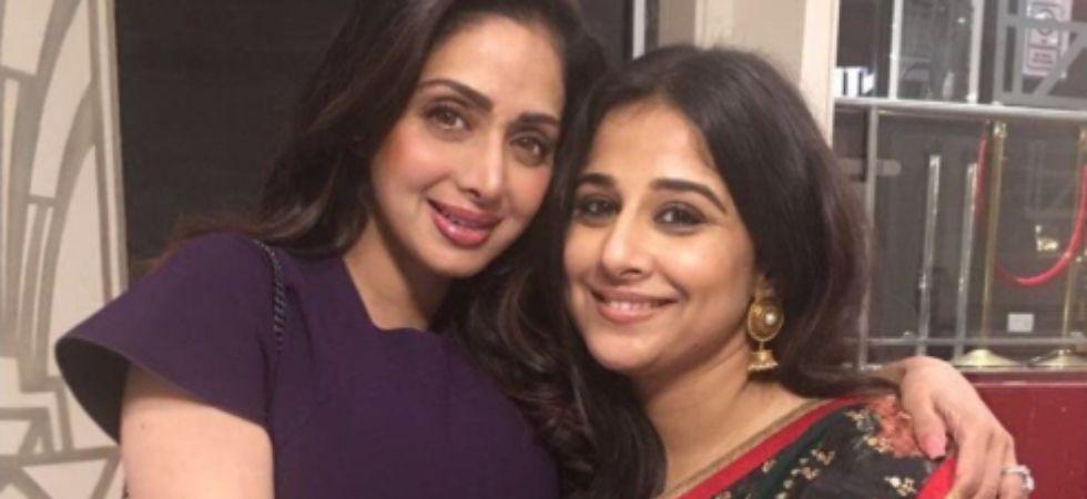 Vidya Balan ready to play Sridevi if her biopic is filmed (Twitter)