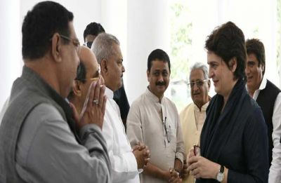 LIVE: Priyanka Gandhi, on mission Uttar Pradesh, arrives at party office in Lucknow