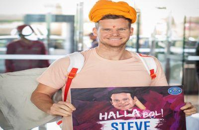 Steve Smith joins Rajasthan Royals team for IPL 2019