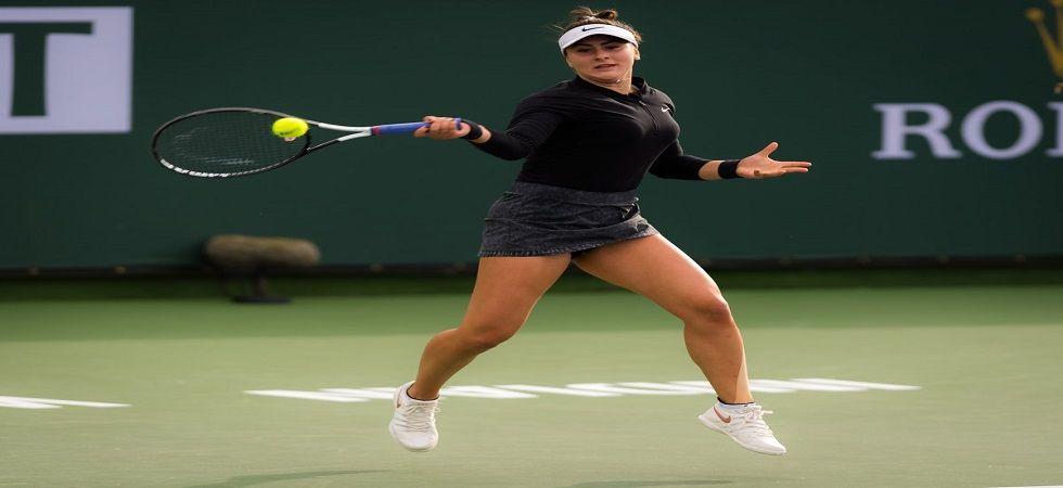 Bianca Andreescu toppled sixth-ranked Elina Svitolina 6-3, 2-6, 6-4 (Image Credit: Twitter)