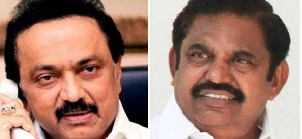 DMK chief M K Stalin (Left) and Tamil Nadu CM E Palaniswami (Right)