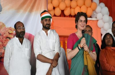 'The rich have chowkidar, farmers don't': Priyanka Gandhi's dig at PM Modi during 'Ganga Yatra'