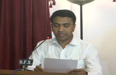 Pramod Sawant takes oath as new Chief Minister of Goa, 2 allies get deputy CM posts